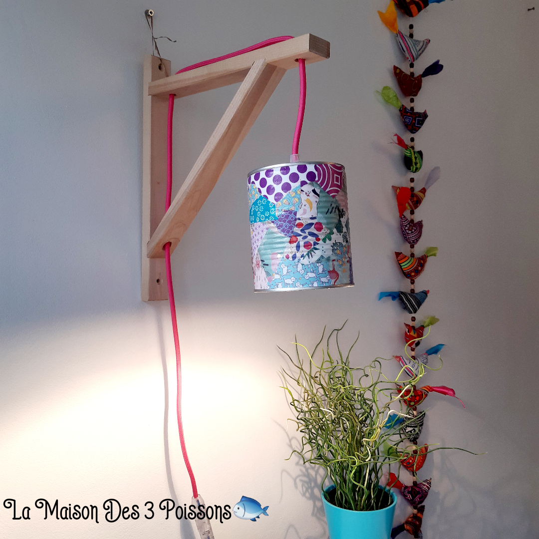 lampe Upcycling